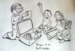 me and my suitcase cartoon