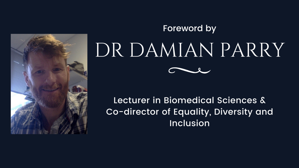 decorative header photo introducing foreword by Dr Damian Parry