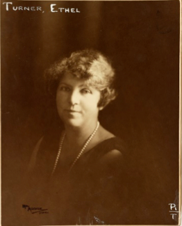 Moore, May. (1927). Portrait of Ethel Turner.