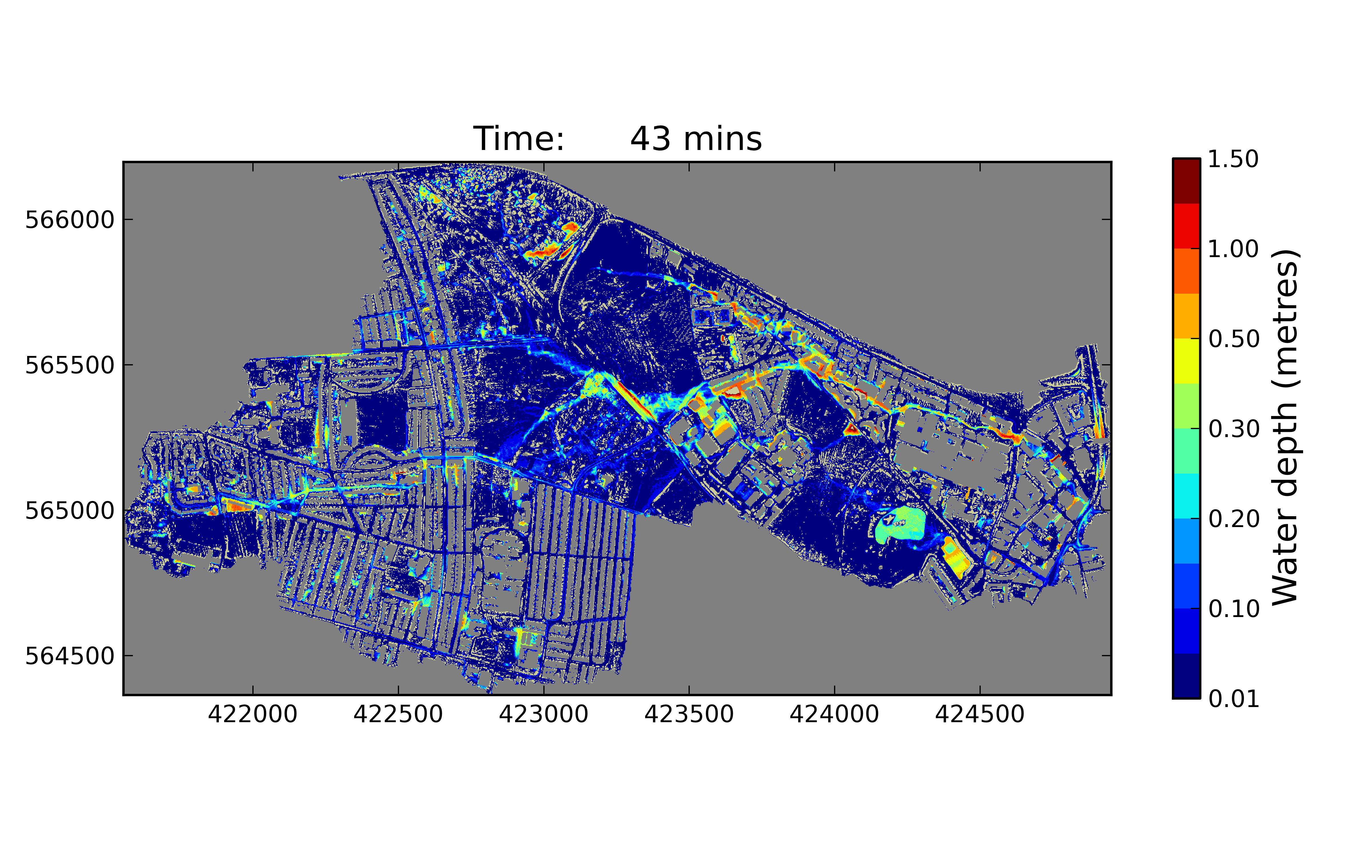 Students flood to measure the BlueLine – Flood Map York Uk