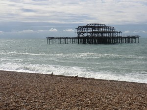 Brighton Pier - seen better days