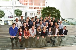 Photo of the delegates from the EuroSDR 3D workshop at Ordnance Survey, Southampton