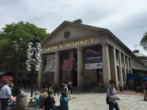 Fig 4. Quincy Market, in the center of Boston.
