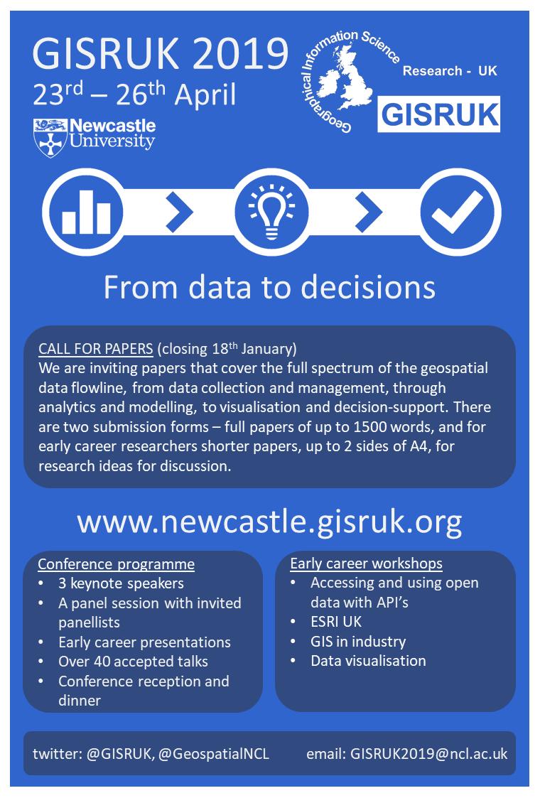 Conferences – Geospatial Engineering @ Newcastle University