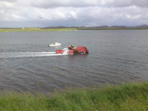 The  latest technology in seaweed harvesting.