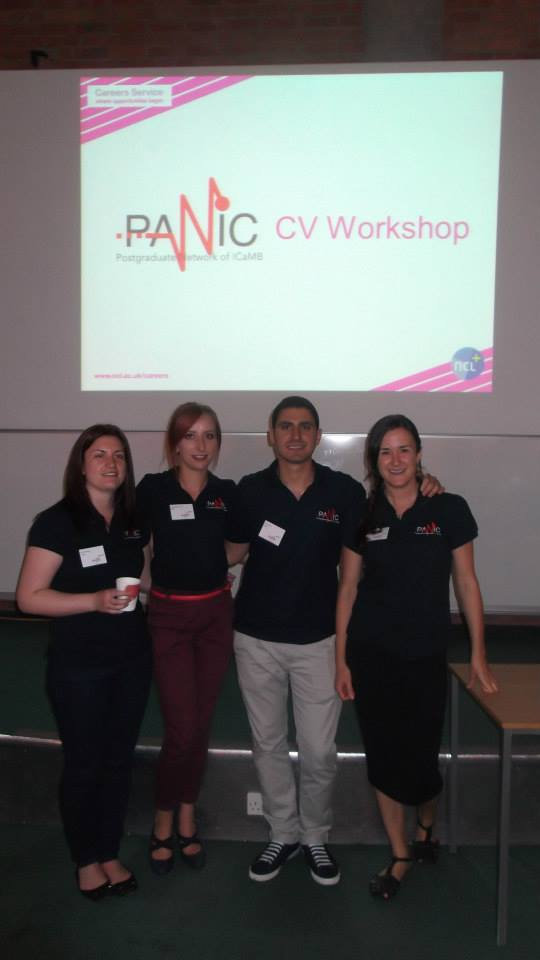 PAN!C CV Workshop, June 2014