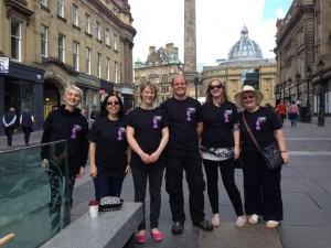 Soapbox Science Newcastle Organising team ready to go!