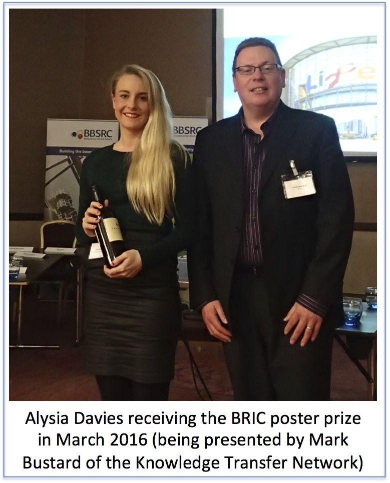 Alysia poster prize