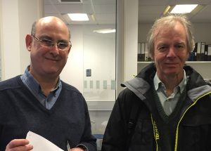 ICaMB's FRS: Prof Jeff Errington and Prof Harry Gilbert