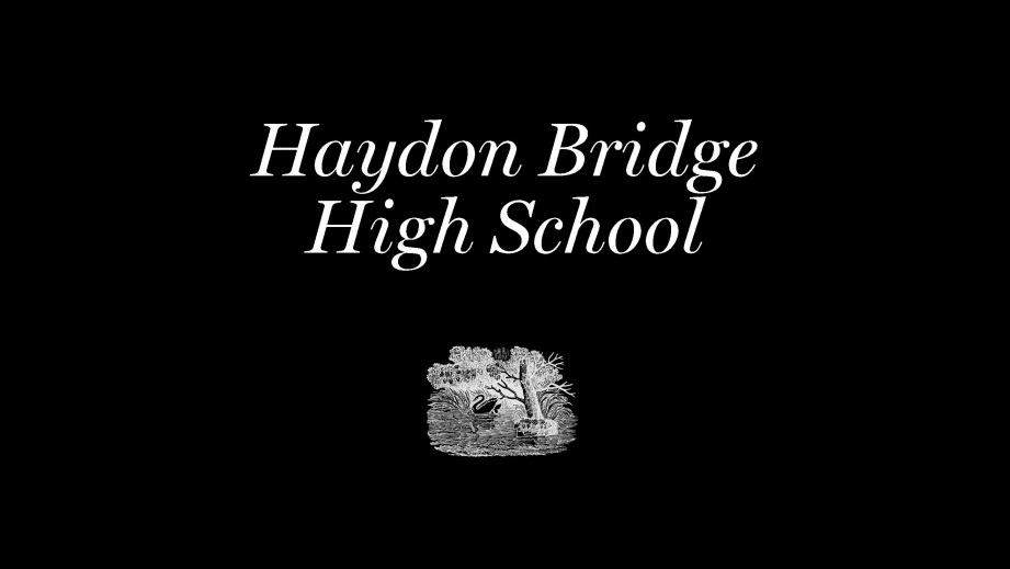 Haydon Bridge High School clickable box to download the exhibition