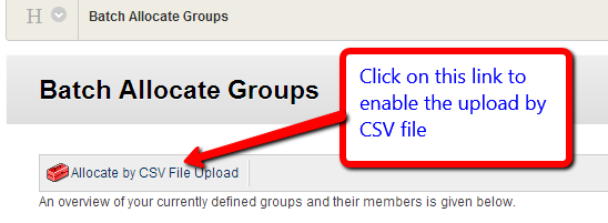 CSV File Link