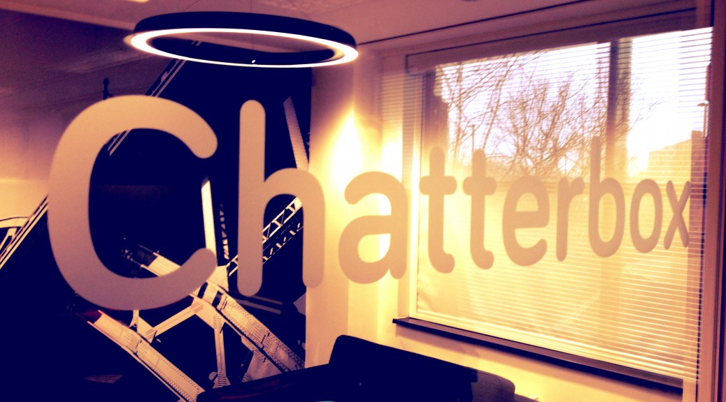 The Chatterbox: Skype family and friends in comfort!