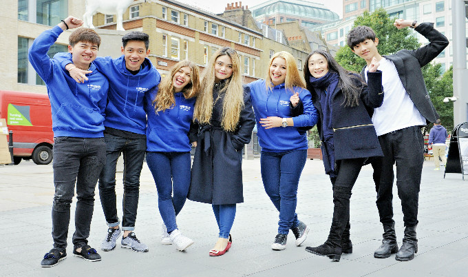 Ncl London students