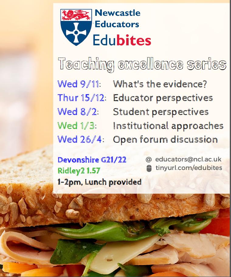 EduBites Poster 2016
