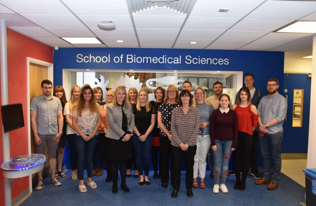 Staff in the School of Biomedical Sciences