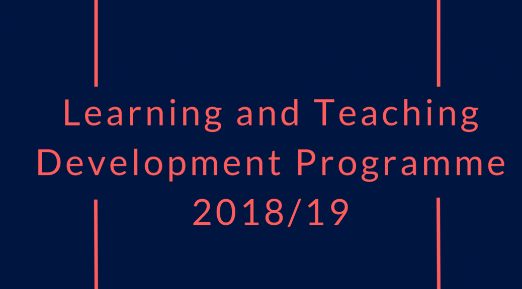 Learning and Teaching Development Programme