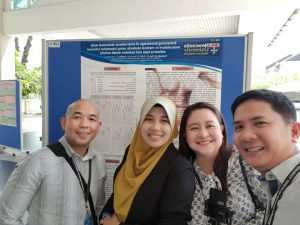 NU Med staff at the symposium