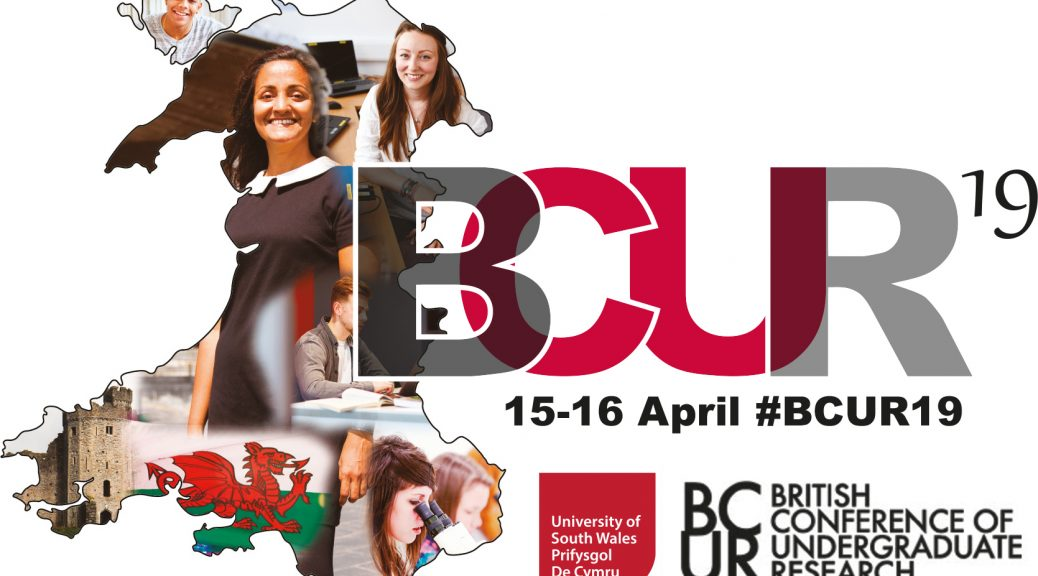 The British Conference of Undergraduate Research will be held at the University of South Wales on the 15 and 16 April 2019 #BCUR19