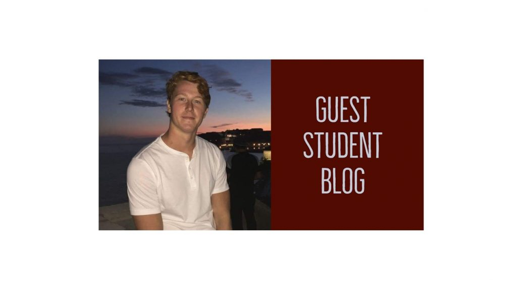 Guest Student Blog and picture of Jan