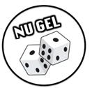 NU GEL logo
