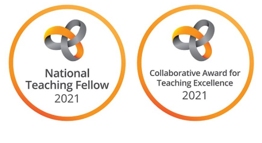 National Teaching Fellow 2021 and Collaborative Award for Teaching Excellence 2021