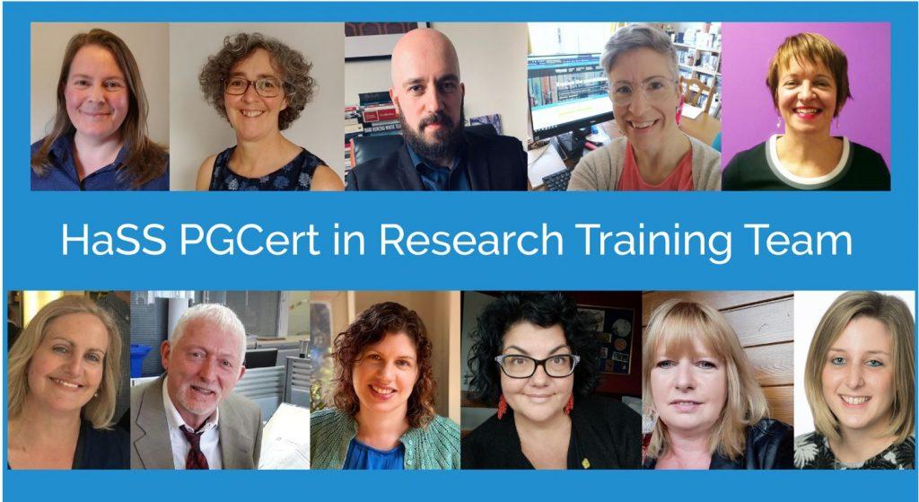 HaSS PGCert in Research Training Team