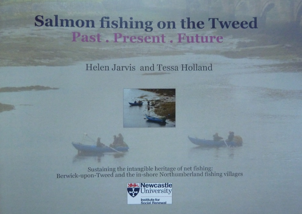 Book Cover White River : Salmon fishing on the tweed reflecting a process of