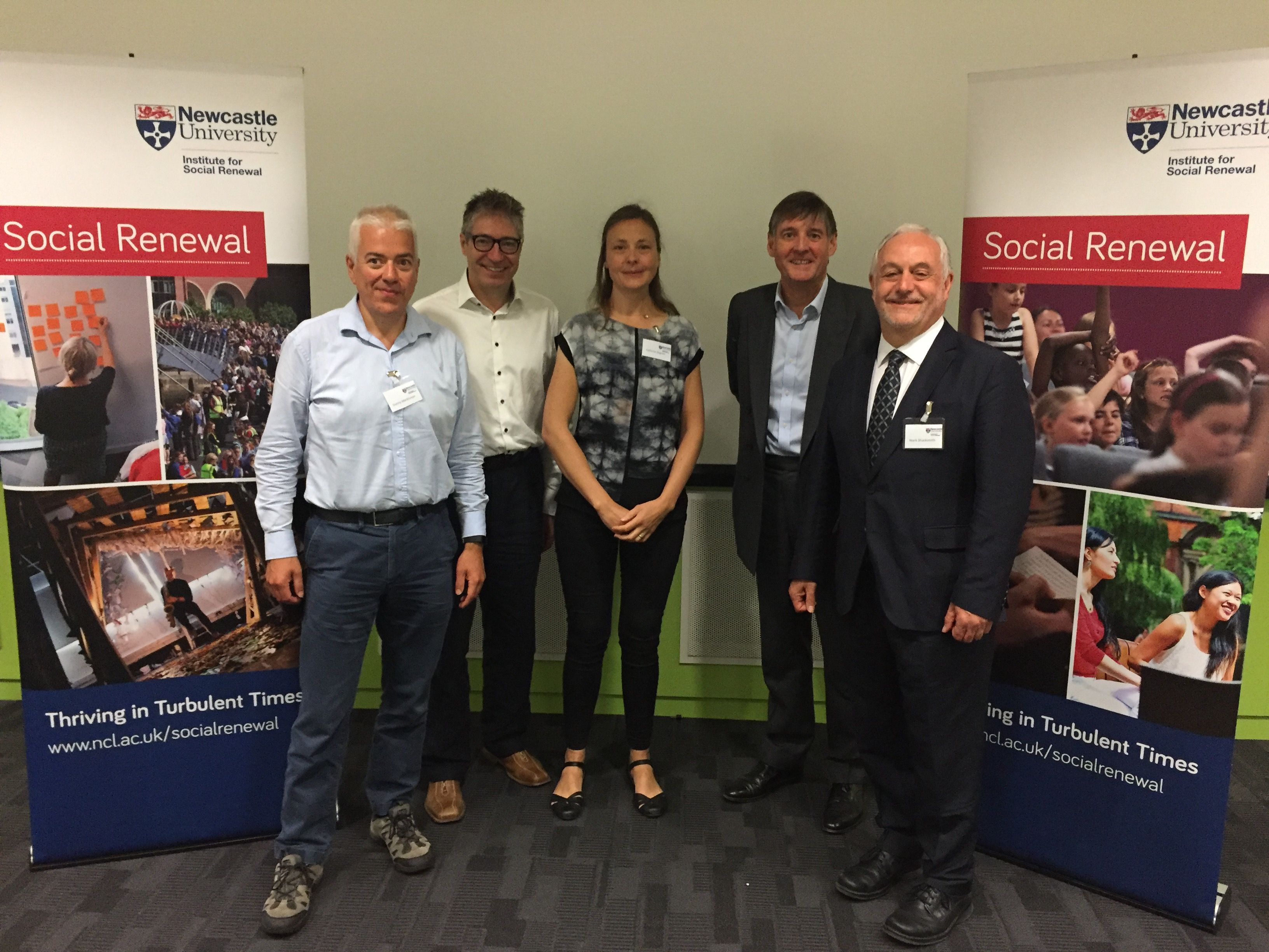 Newcastle University Institute for Social Renewal | We are the