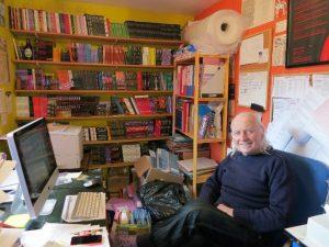 Peter Mortimor of IRON Press