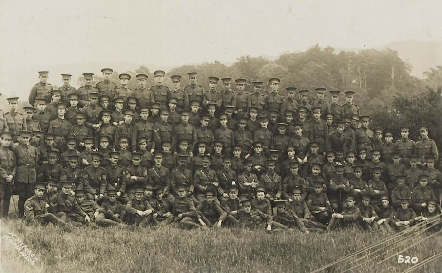 Durham University Officers' Training Corps, Stobs camp, 1914, Durham University Library Special Collections, Ref: MIA 1/307
