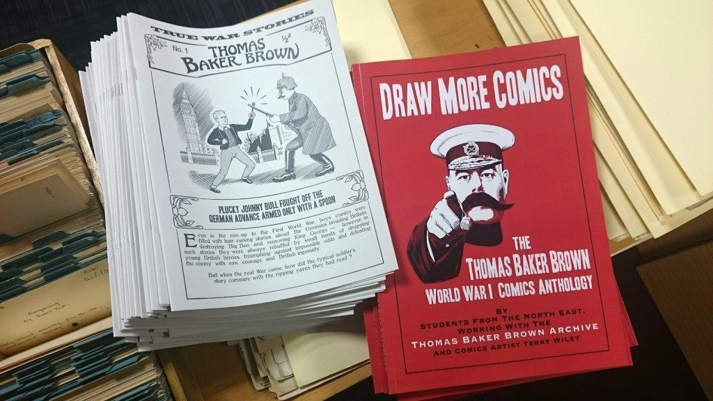 Photos of comics