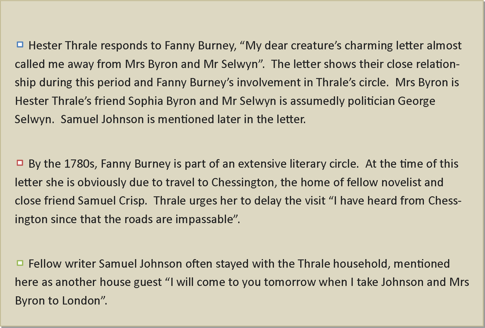 the decay of friendship by samuel johnson