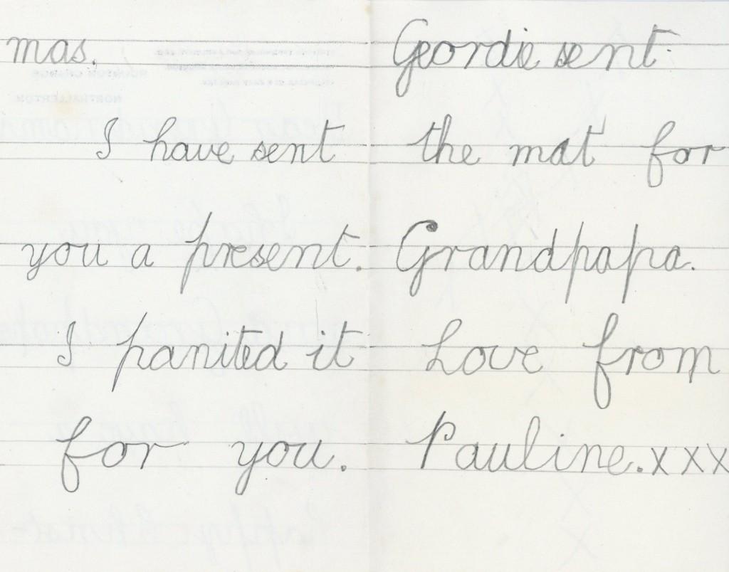 Trevelyan Letter pages 2 & 3