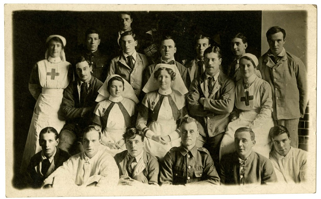 WORLD WAR 1-UNIVERSITY HOSPITAL-PHOTO 1