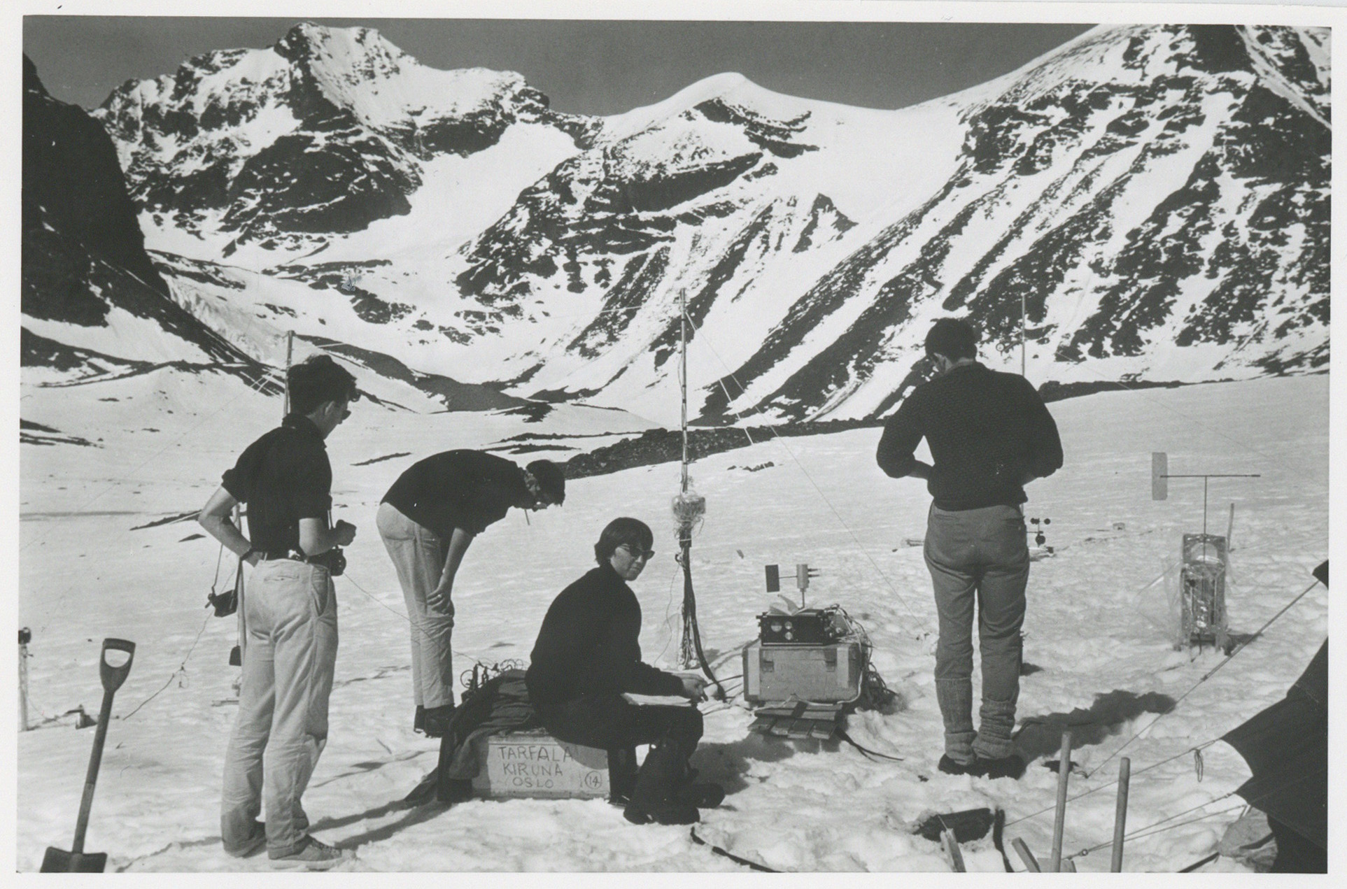 Mountain expedition 1966