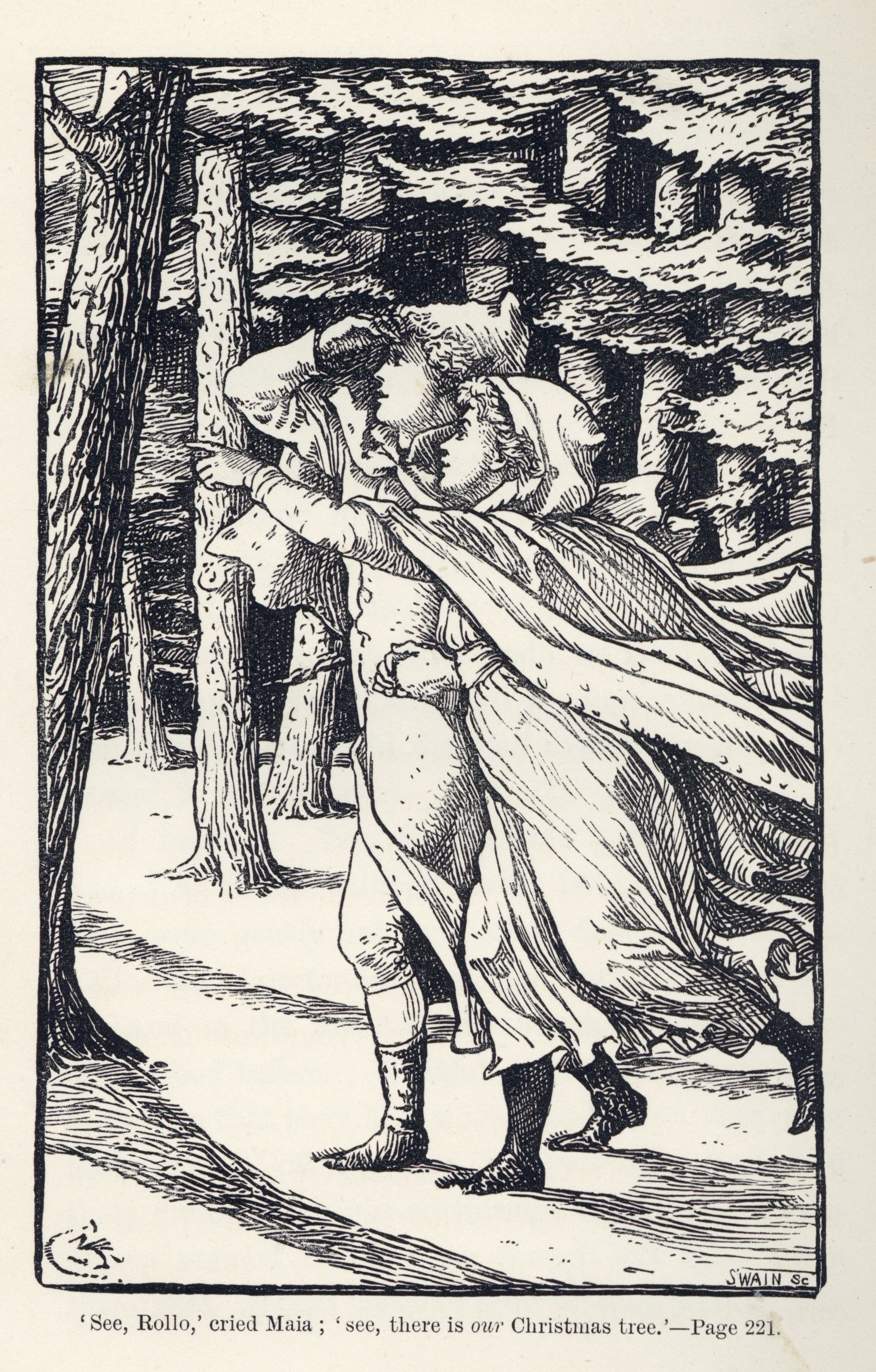 Illustration from 'Christmas Tree Land'