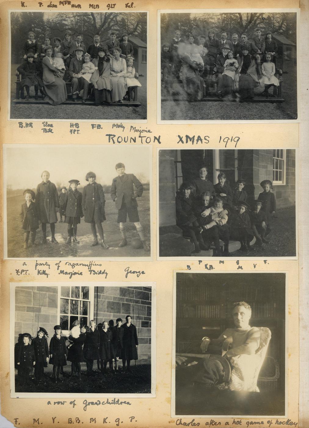 'Rounton Xmas 1919'