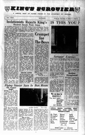 The King's Scrouier, 16th December 1952