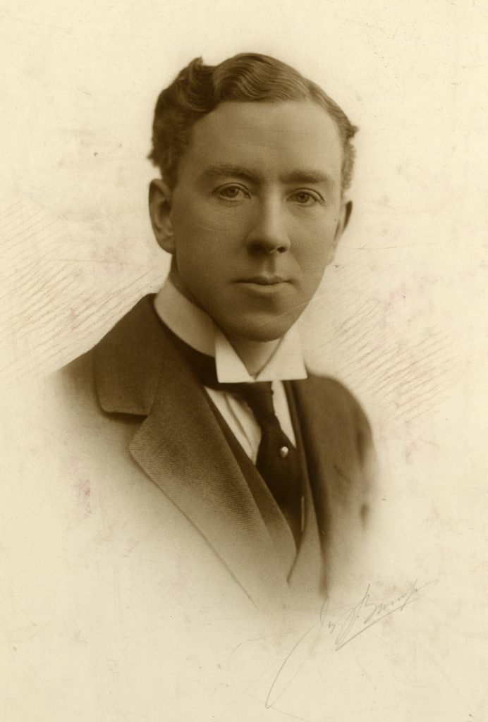 Photograph of Professor Pybus, c. 1913