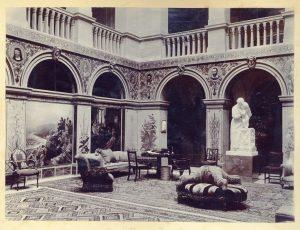 Great Hall at Wallington, 1903 (CPT/PA/1)