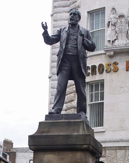 Statue of Joseph Cowen