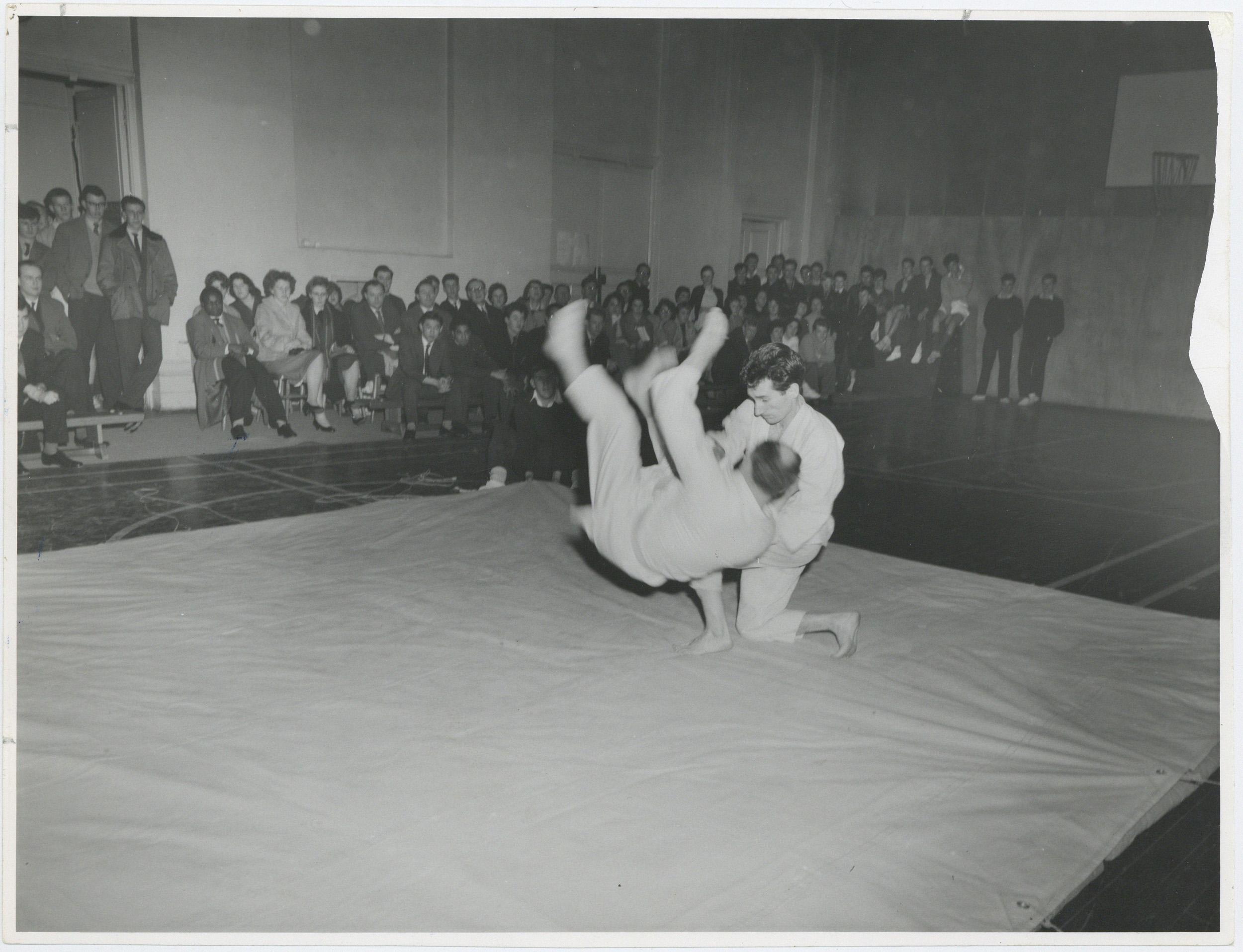 Judo match, 1963