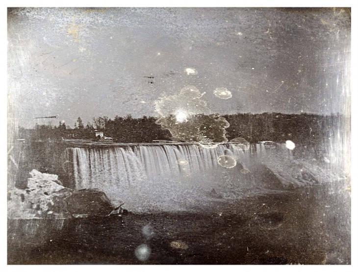 Daguerrotype of The American Falls