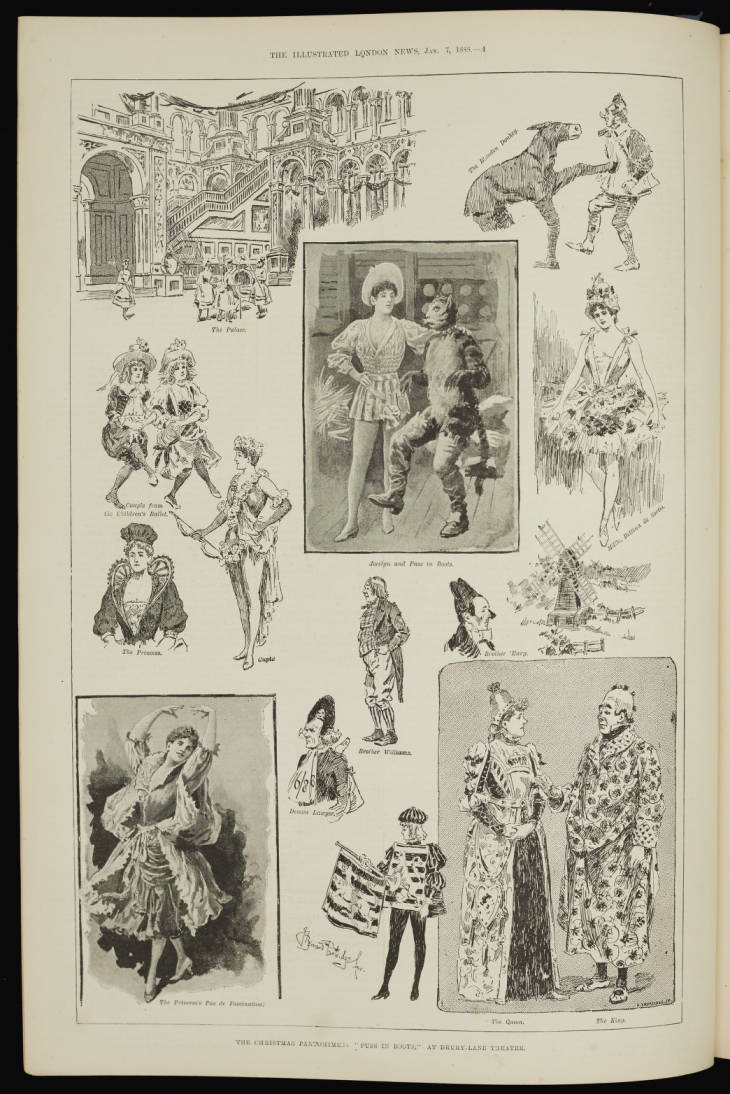 Page from Illustrated London News, Volume 92 (19th Century Collection, 19th C. Coll ILL 030)