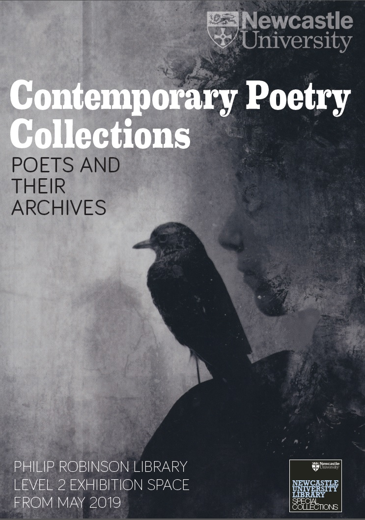 Contemporary Poetry Collections exhibition poster