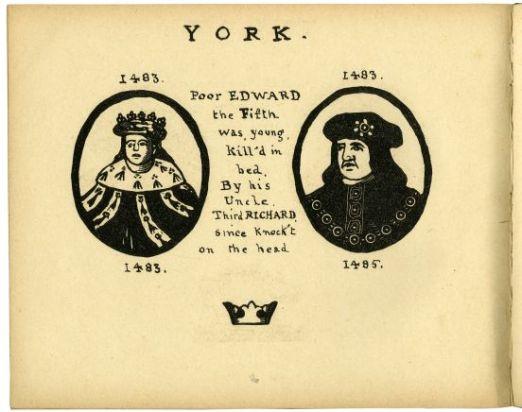 Print of Edward V and Richard III, by Joseph Crawhall II,