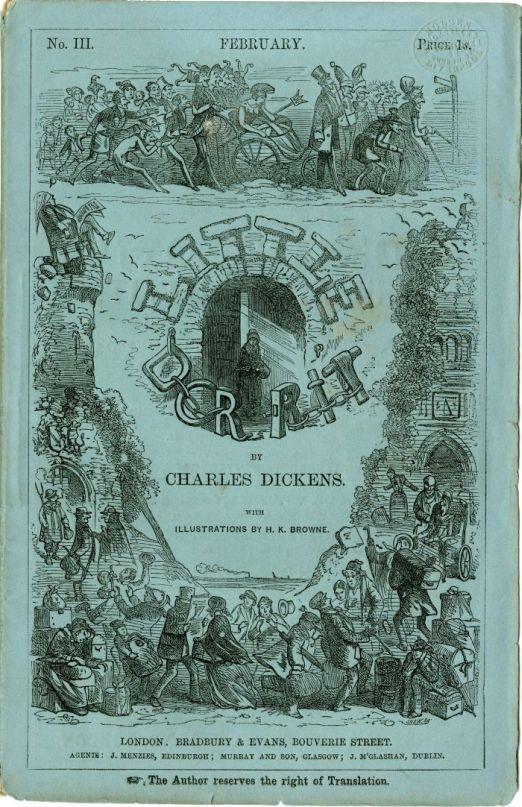 Front cover of Little Dorritt, no III