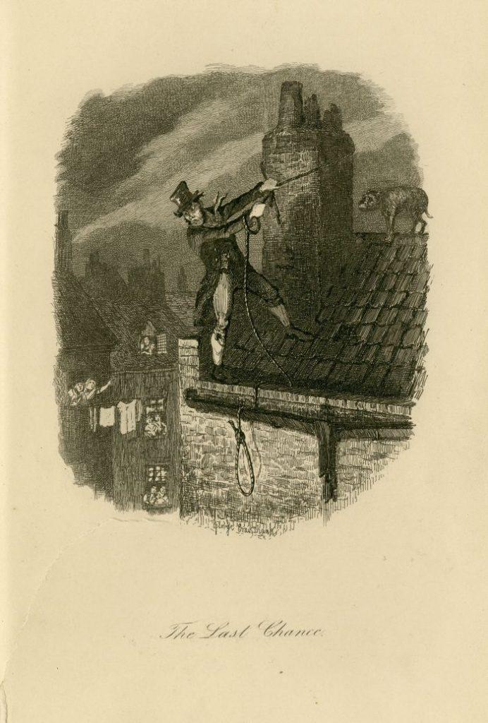 Illustration of 'The Last Chance'