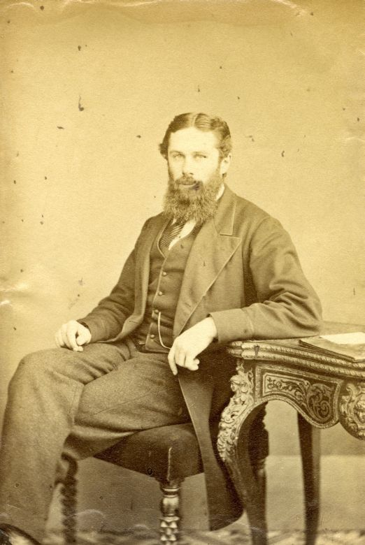 Photograph of George Otto Trevelyan