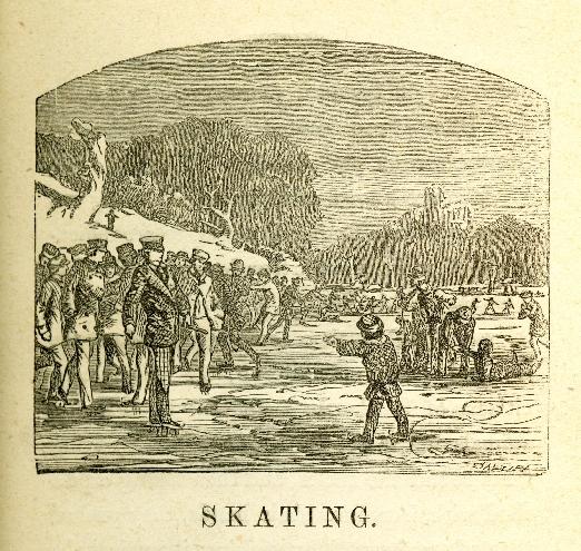 Illustration Skating from Skating and Sliding